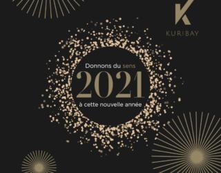 Kuribay vous souhaite une bonne année 2021